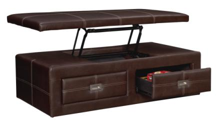 Callihan Lift Top Storage Ottoman